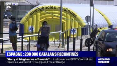Coronavirus: la région de confinement a décidé de reconfiner plus de 200.000 personnes