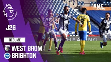 Premier League : West Brom 1-0 Brighton – Premier League (J26)