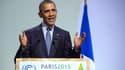 Barack Obama, lundi, lors de son intervention pour la COP21.