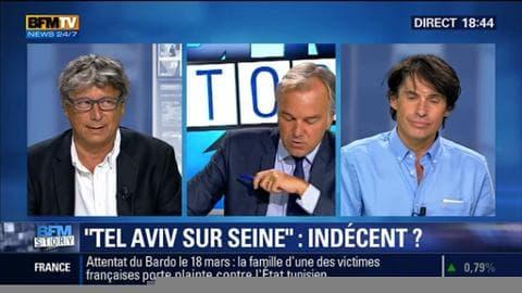 """""""Tel Aviv Sur Seine"""": S'agit-il d'un évènement indécent ?"""