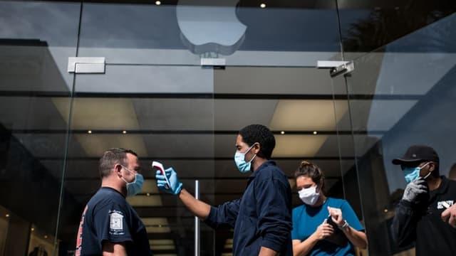 Un magasin Apple aux États-Unis.