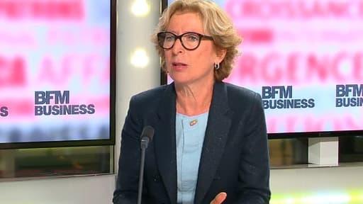 Geneviève Fioraso a défendu le Crédit impôt recherche, au micro de BFM Business.