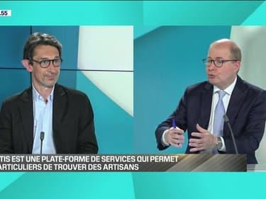 Jacques Lorne (Quotatis): Quotatis est une plateforme de service qui permet aux particuliers de trouver des artisans - 19/06
