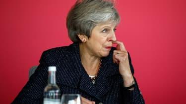 Theresa May ce jeudi à Londres