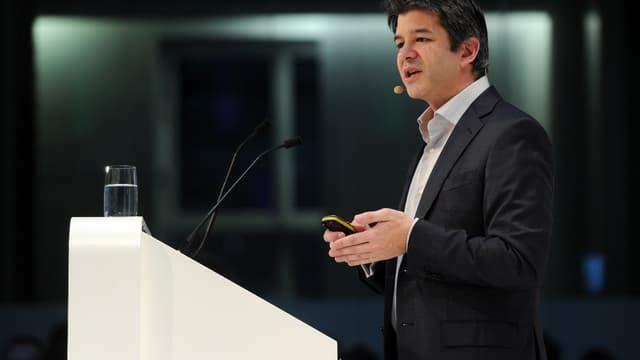 Travis Kalanick, fondateur d'Uber.