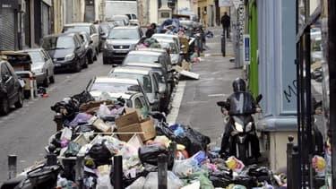 Image d'illustration des poubelles à Marseille en 2010