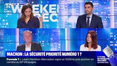 """Macron, """"La violence enfle dans notre société"""" - 08/05"""