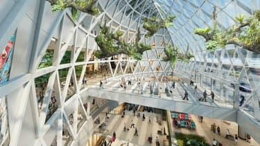 Désigné meilleur aéroport du monde depuis 5 ans, le Changi de Singapour va accueillir une forêt tropicale d'ici 2018.