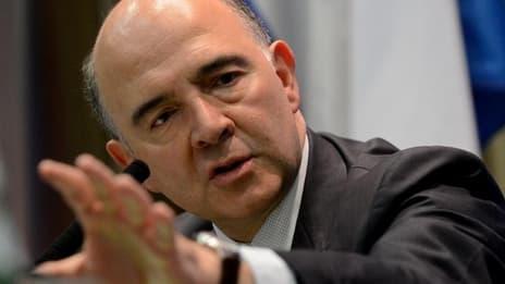 """Pierre Moscovici a vanté des """"progrès"""" faits entre les deux pays sur la fraude fiscale."""