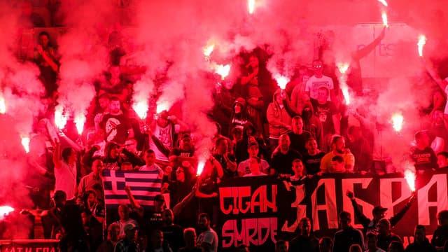 Supporters Etoile Rouge Belgrade