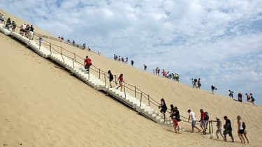 La Dune du Pilat mesurait 108,9 mètres de haut en 2011, 109,2 mètres en 2016 et 110,5 mètres en 2017.