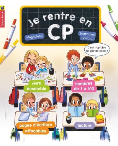 """Collection """"Je suis en CP"""" (19 tomes et 5 hors séries) de Magdalena et Emmanuel Ristord."""
