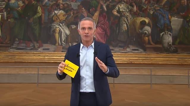 """Samuel Etienne au Louvre pour """"Questions pour un champion"""""""