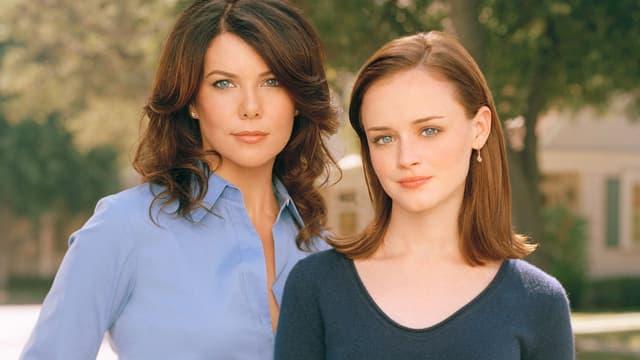 Les deux héroïnes de la série Gilmore Girls