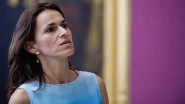 Aurélie Filippetti, en juillet 2014, alors encore ministre de la Culture du gouvernement Valls.