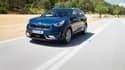Récemment arrivé sur le marché, le Kia Niro est disponible en motorisation hybride et hybride rechargeable.