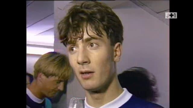 Christophe Dugarry dans les années 90