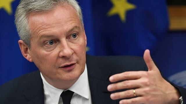 Le ministre des Finances Bruno Le Maire a reçu une lettre de la Commission européenne, lui demandant de clarifier le budget 2020 d'ici mercredi.