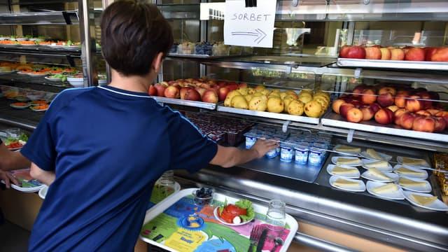Un menu végétarien sera expérimenté dans les cantines scolaires
