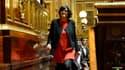 Myriam El Khomri à la tribune du Sénat