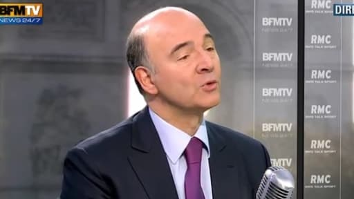 Pierre Moscovici, le ministre de l'Economie, était l'invité de BFMTV/RMC le 31 octobre.