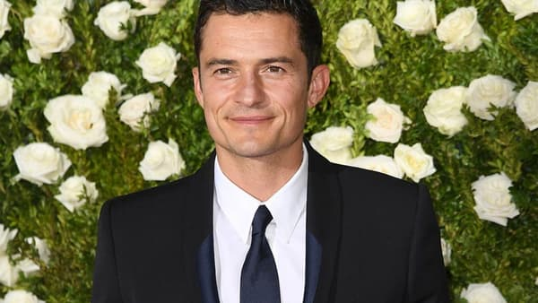 Orlando Bloom en juin 2017 aux Tony Awards.