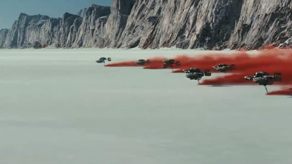 Crait, la nouvelle planète de l'univers Star Wars