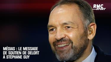 Médias : Le message de soutien de Delort à Stéphane Guy