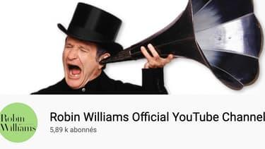 La chaîne YouTube officielle sur Robin Williams.