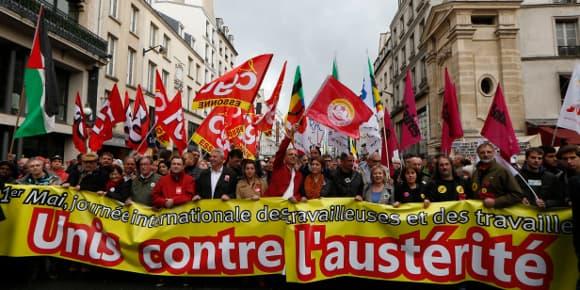 Mobilisation sociale du 1er mai.