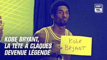 Kobe Bryant prend la pose en janvier 1999