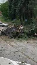 Une mini tornade s'est abattue à Drémil-Lafage (Haute-Garonne) - Témoins BFMTV
