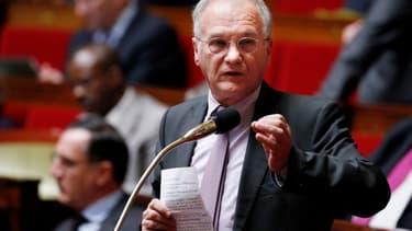 Gilles Carrez, le président (UMP) de la Commission des finances à l'Assemblée.
