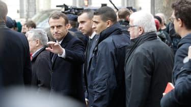 Emmanuel Macron, le 2 décembre.