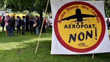 Une manifestation contre l'aéroport de Notre-Dame-des-Landes à Nantes le 18 juin 2015