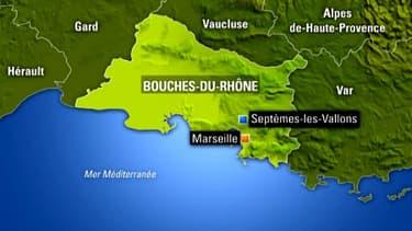 Le corps a été retrouvé à Septèmes-les-Vallons dans les Bouches-du-Rhône