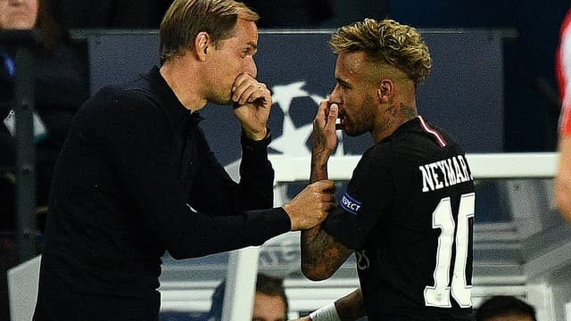 Tuchel et Neymar