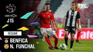 Résumé : Benfica 1-1 Nacional - Liga portugaise (J15)