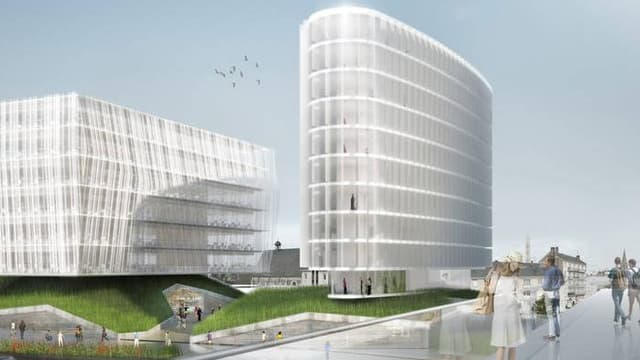 """Le projet """"Gare +"""", à Angers"""