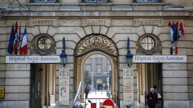 L'hôpital Saint-Antoine, dans le 12e arrondissement de Paris