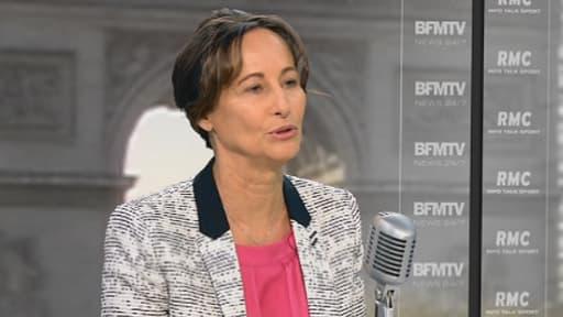 Ségolène Royal est l'invitée de BFMTV et RMC