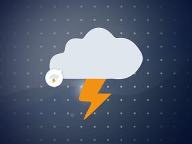 Des orages (image d'illustration).