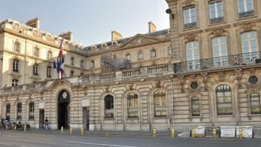 Le siège de la Caisse des Dépôts dans le VIIe arrondissment de Paris.