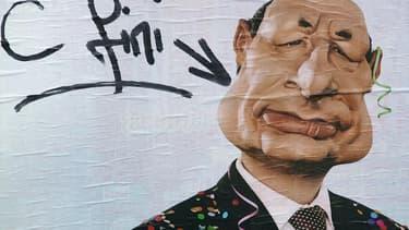 La marionnette de Jacques Chirac, en 2007.