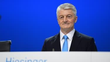 Heinrich Hiesinger, PDG démissionnaire de Thyssenkrupp