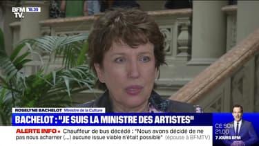 """Story 6 : """"Je suis la ministre des artistes"""", Roselyne Bachelot - 10/07"""