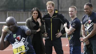 Meghan Markle et le Prince Harry aux Invictus Games