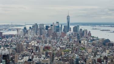 Les tours de bureaux sont vides à New York