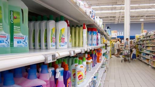 Philips a créé un système permettant aux clients de se repérer dans les supermarchés.