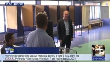 Le vote de Marine Le Pen à Hénin-Beaumont